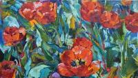 Тюльпаны,купить картину онлайн