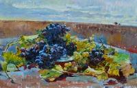 картина маслом виноград