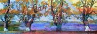 Картина маслом «Речка» - заказать картину