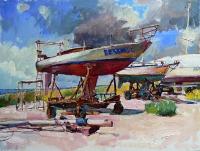 Картина с морем «Азов» - картина