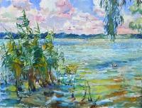 На Дунае, купить картину в Киеве