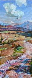 Дорога в горах - картина украинского художника