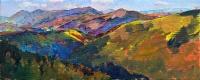 Горы, картина украинского художника