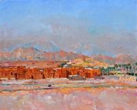 Синайские горы,  картина маслом