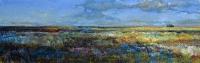 облака над степью, картины украинских художников