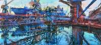 Черноморский судоремонтный завод,картина