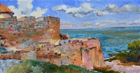 Akerman fortress-oil landscape