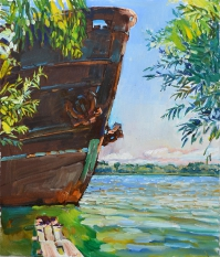 fineart painting online - Danube