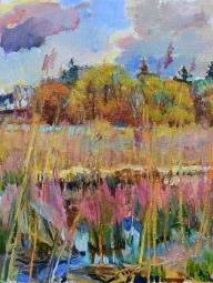 landscape by ukrainian artist-